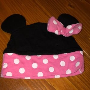 Minnie Mouse ears baby hat